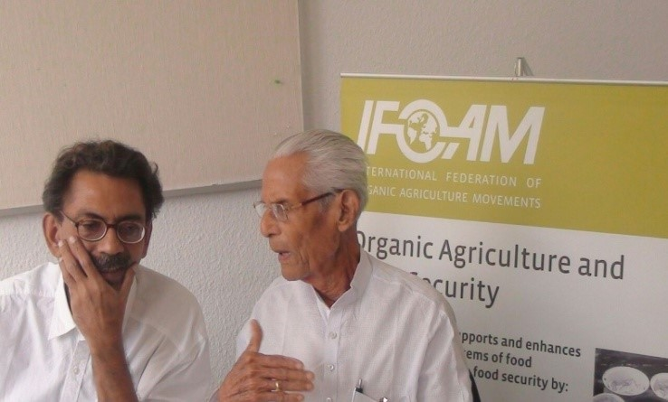 Agriculture Minister at farm Visit